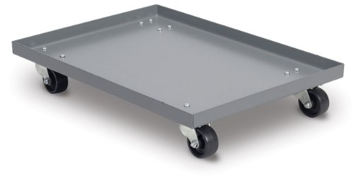 Akro-Mils RU843TP2227 Powder Coated Steel Panel Dolly for 30292 Super Size AkroBin Grey