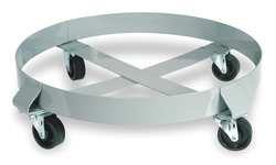 Industrial Grade 1XUZ8 Welded Steel Dolly 30 Gal Cap 1000 Lb