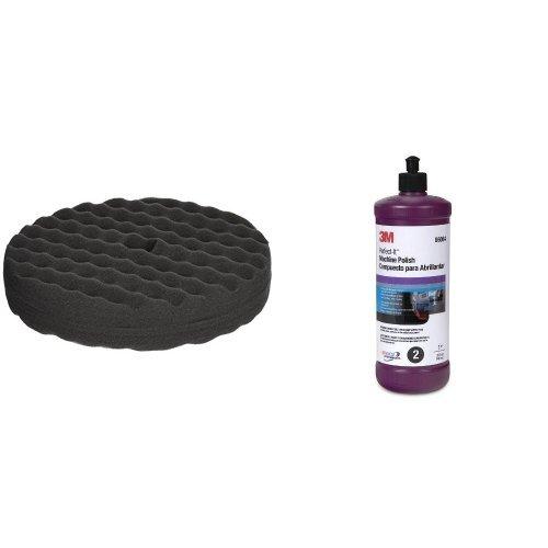 3M 06064 Perfect-It Machine Polish 3M 05707 Perfect-It 8 Foam Polishing Pad