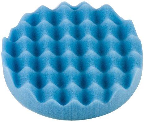 Optimum BWF2013-55 Blue 55 Waffle Foam Polishing Pad