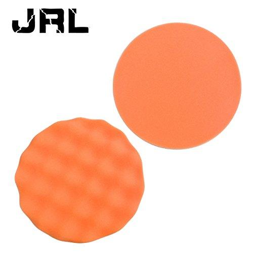 JRL 7 Sponge Buffer Waffle Polishing Foam Buffing Pads for Car Polisher