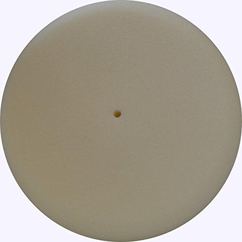 buffing pad white foam 6 inch diameter