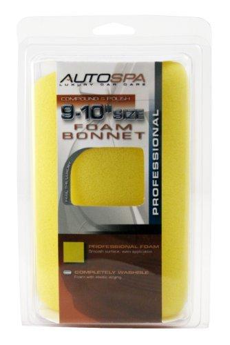 Carrand 40411AS AutoSpa Foam 9-10 Polishing Bonnet