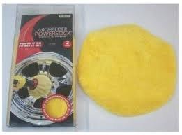 Viking Microfiber Mini Powersock Polishing Bonnet Set of 2