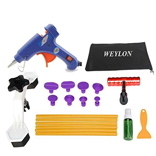 Weylon Auto Paintless Dent Removal kit Tools Glue Gun Bridge Puller Repair Tool Kits