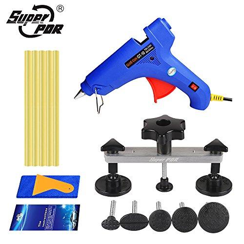 Super PDR 15pcs Bridge Glue Puller kit Car auto Body Paintless Dent Removal Repair Tool Kit Pops-a-dent Dent Ding Repair