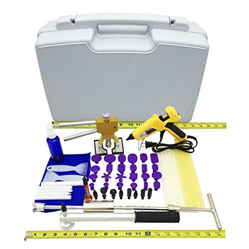 HOTPDR Paintless Dent Repair Kit Dent Repair Dent Puller Pdr Kit for Automotive Dent Fix 58 Pcs