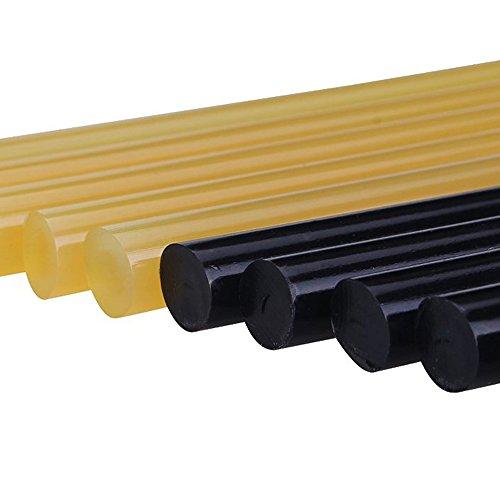Pdr Glue Sticks  Gliston Hot Glue Sticks Paintless Dent Repair Tool for Car Repair Dent Remover Tool Set - 5 Packs Black 5 Pack Yellow