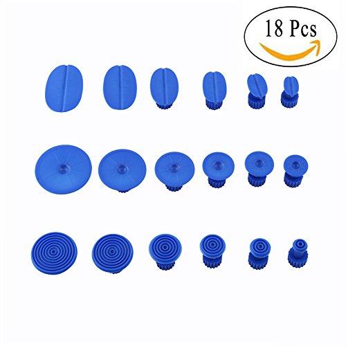 18 Pcs PDR Dent Puller Glue Tabs Body Dent Repairing Tools Removal Kits