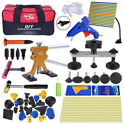Super PDR Dent Puller KitPDR Tools 52Pcs Dent Remover for Car Body Dent Repair Kit