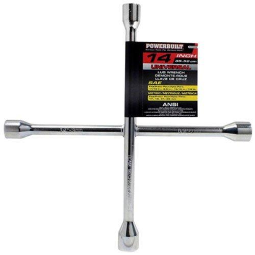 Powerbuilt 940558 14 Universal Lug Wrench