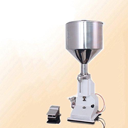 kohstar pneumatic cosmetic paste liquid filling machine cream filler 1-10ml