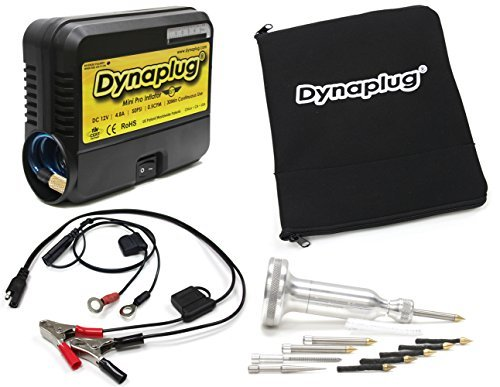 Dynaplug Pro Xtreme Tire Repair Tool with 12V Tire Pump and Accessories