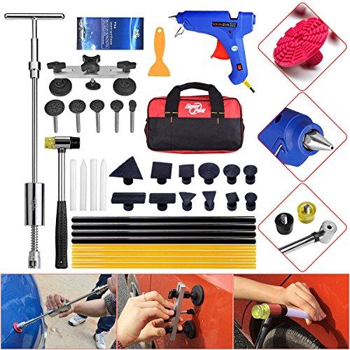 AUTOPDR DIY PDR Tools Car Body Dent Repair Tools Smile Dent Lifter Puller Kits