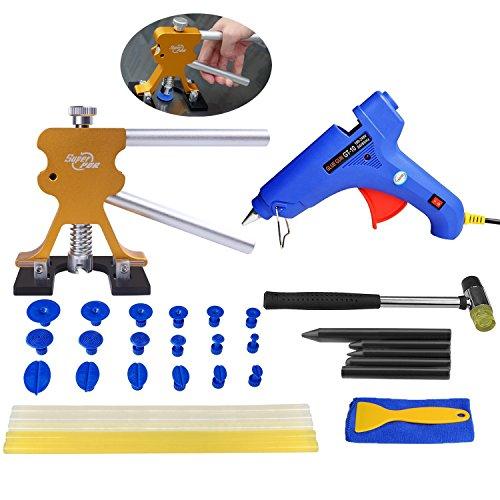 Super PDR 35pcs Car Body Dent Repair Tools Gold Dent Lifter Puller Sets