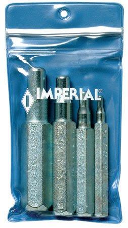 Imperial Eastman Swaging Tool Set Vinyl Case 4 Swaging Punches