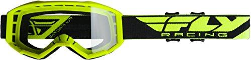 Fly Racing 2020 Focus Goggles HI-VIZ Yellow