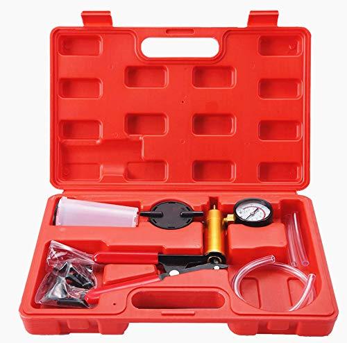 ATP 2 in 1 Brake Fluid Bleeder Oil Change Hand Held Vacuum Pistol Pump Tester Kit