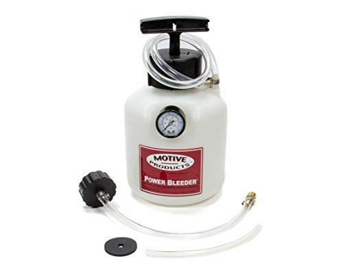 Motive Products European Power Brake Bleeder 0100 Hand Pump Pressure Tank with Adapter