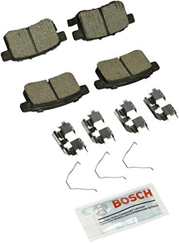 Bosch BC1451 QuietCast Premium Ceramic Disc Brake Pad Set For Acura TSX Honda Accord Rear