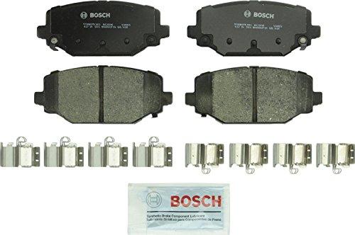 Bosch BC1596 QuietCast Premium Ceramic Disc Brake Pad Set For Select Chrysler Town Country Dodge Grand Caravan Journey Ram CV Volkswagen Routan Rear