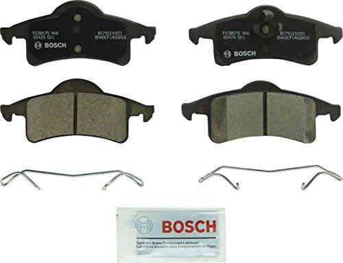 Bosch BC791 QuietCast Premium Ceramic Disc Brake Pad Set For 1999-2004 Jeep Grand Cherokee Rear