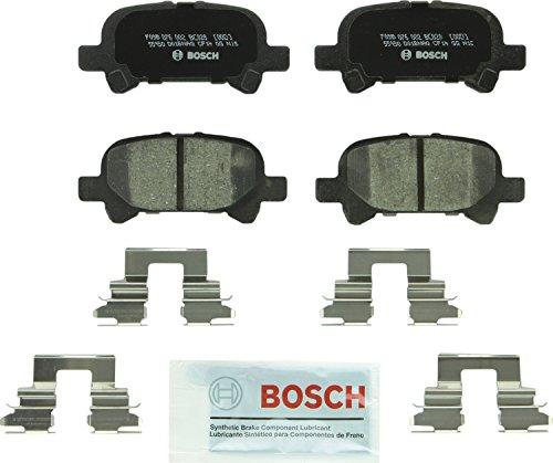 Bosch BC828 QuietCast Premium Ceramic Disc Brake Pad Set For Toyota 2000-2007 Avalon 2000-2006 Camry 2000-2008 Solara Rear