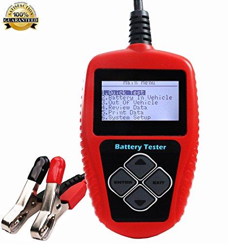 Quicklynks 12V Battery Tester Analyzer Automotive Digital Load Tester 100-2000CCA for Workshop DIY Users