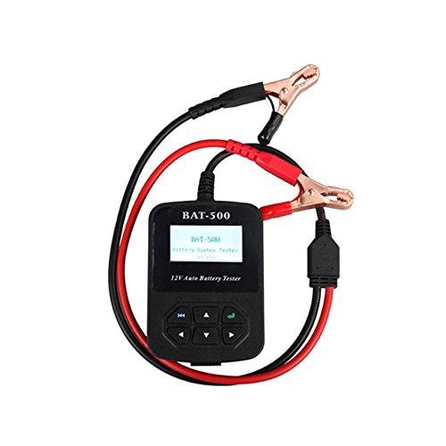 Original 12V Auto Battery Tester with Portable Design BAT-500 Car Battery Tester