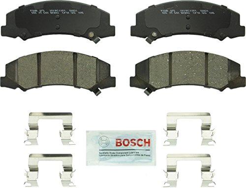 Bosch BC1159 QuietCast Premium Ceramic Disc Brake Pad Set For Buick 2008-09 Allure 2008-09 LaCrosse 2006-11 Lucerne Cadillac 2006-11 DTS Chevrolet 2006-16 Impala 2006-07 Monte Carlo Front