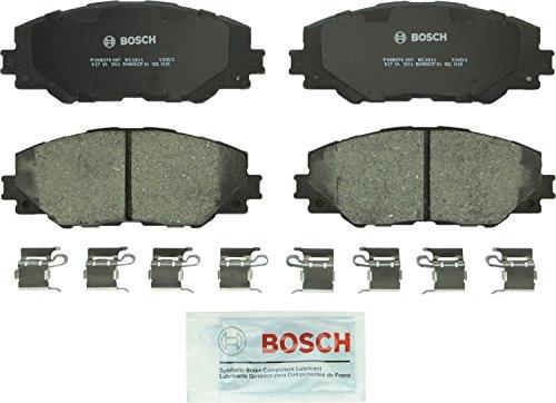 Bosch BC1211 QuietCast Premium Ceramic Disc Brake Pad Set For Pontiac 2009-10 Vibe Scion 2015 iM 2011-16 tC Toyota 2017 Corolla iM 2009-13 Matrix 2016-17 Mirai 2006-18 RAV4 Front