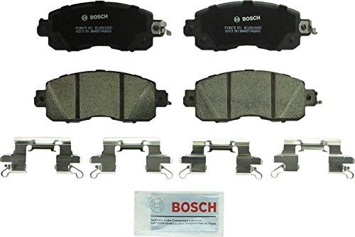 Bosch BC1650 QuietCast Premium Ceramic Disc Brake Pad Set For Nissan Altima Leaf Front