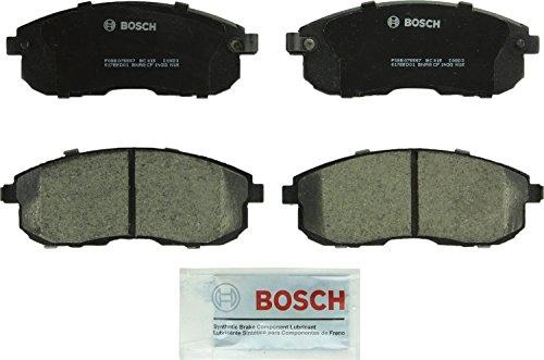Bosch BC815 QuietCast Premium Ceramic Disc Brake Pad Set For Infiniti G20 G35 I30 Nissan Altima Cube Maxima Sentra 350Z Front