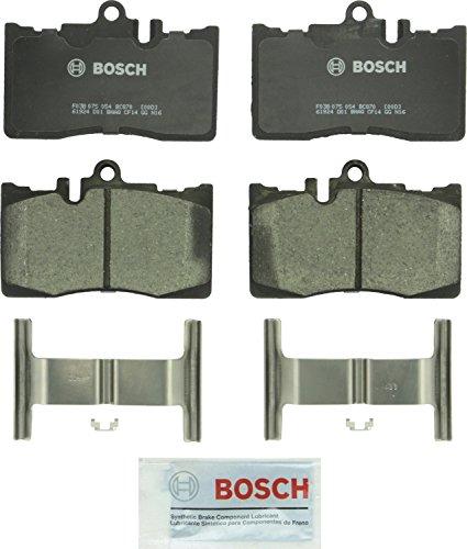 Bosch BC870 QuietCast Premium Ceramic Disc Brake Pad Set For 2001-2006 Lexus LS430 Front