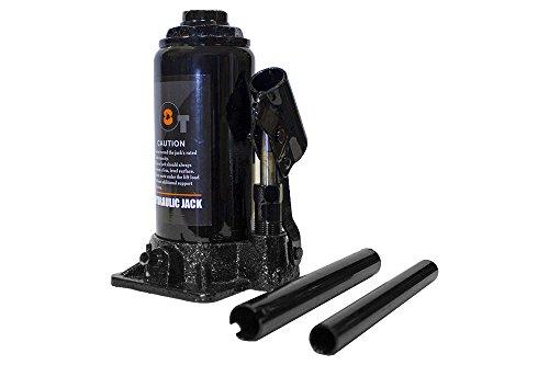 8 Ton Bottle Jack Heavy Duty Hydraulic Lift Automotive Car Repair Shop Ram Tool