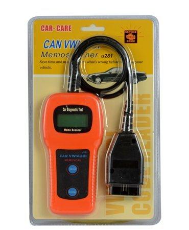 TopOne for VWAUDI U281 CAN BUS OBD2 Car Trouble Code Reader Scanner for VWAUDI