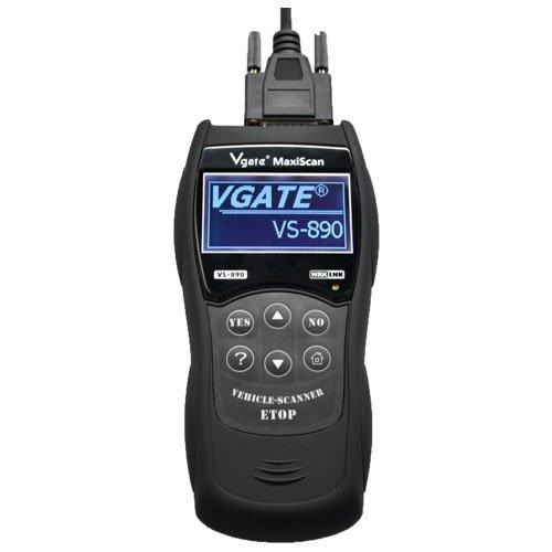 Vgate Vs890 Auto Diagnostic Tool Car Trouble Codes Reader Eraser Obd2 Scanner