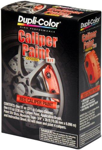 Dupli-Color BCP400 Red Single Brake Caliper Kit