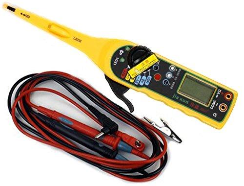 Car Auto Power Electric Circuit Tester MultimeterLampProbeLight 0-380Volt Auto Circuit Tester Cheap Lamp High Quality Tester Bench
