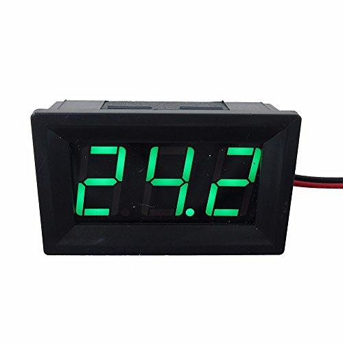 DIGITEN 056 Green DC 45-120V Digital Voltmeter Voltage Measurement 2 Wires Gauge LED Panel