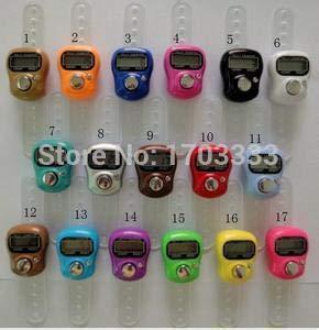 Ring Court - 2016 Arrive Muslim Finger Ring Tally Counter Digital Tasbeeh Tasbih Dhl Fedex - Color Abacus Muslim Meter Wristband Sibha Misbaha Lap Masbaha Digital