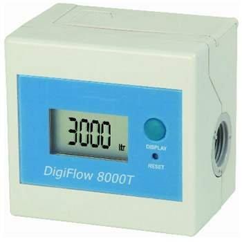 Savant DF086L Digiflow 8000TL Real Time Digital Flow Meter Liters