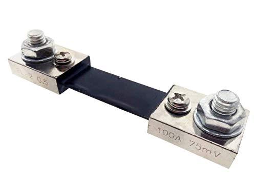 YXQ 100A 75mV DC Current Shunt Resistor Analogue Digital Meter Ammeter