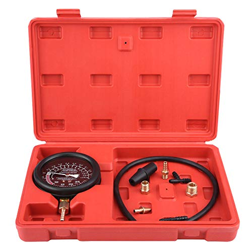Duokon Car Engine Vacuum Fuel Pump Vacuum Tester Gauge Carburetor Pressure Diagnostics Leakage Tester