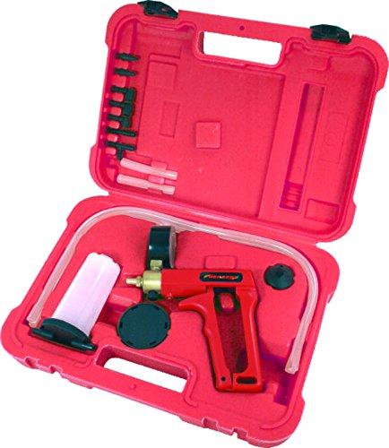 Generic Brake Fluid Bleeder Hand Held Vacuum Pistol Pump Tester Kit  Adapters w Case