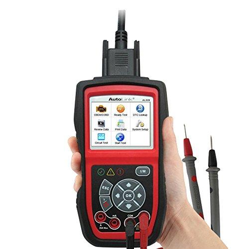 Autel AutoLink AL539 OBDII Test Tool for Car Diagnostic and Scan
