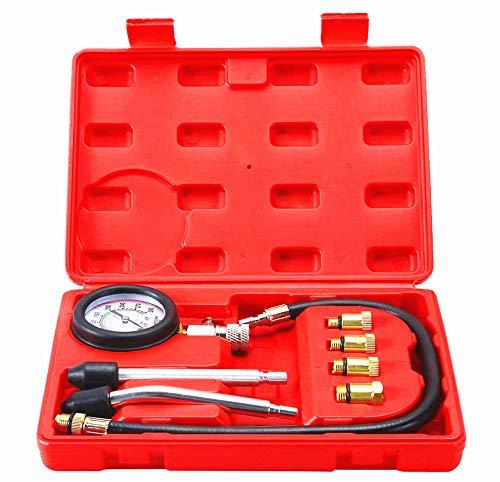 ATP Professional Petrol Gas Engine Cylinder Compression Tester Gauge Kit Auto Tool