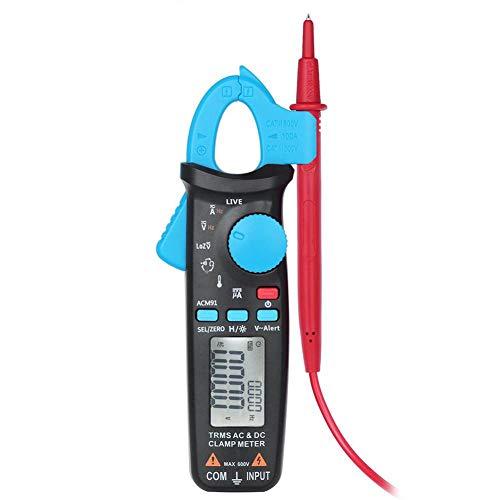 Multimeter Fydun 1pc Digital Clamp Multimeter 6000Count ACDC Measures Voltage Tester Current Resistance Tests Diodes Transistors Temperature