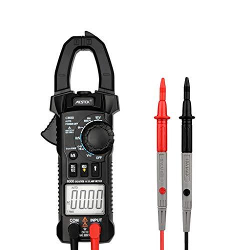 Tharv❤Multi-Function Digital Clamp Multimeter Ammeter High Precision Clamp Ammeter Black