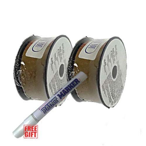 2 Rolls of E71T-GS 030 035 2-LB Gasless Flux Core Welding Wire Made in USA 2 Rolls of 0030